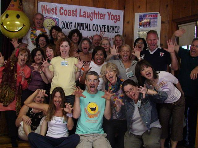 2007 USA West Coast Laughter Yoga Conference