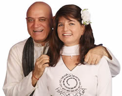Dr. Madan Kataria and Madhuri Kataria, Founders of Laughter Yoga International